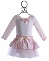 Miniclasix Pink Baby Girl Tutu Outfit