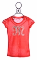 Miss Me Girls Red M Top