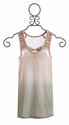 Miss Me Girls Tank in Cream with Ombre Detail (MD 10 & LG 12)