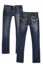 Miss Me Girls Tween Skinny Jeans in Medium Wash (Size 10)