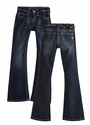 Miss Me Kids Dark Wash Bootcut Jeans