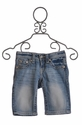 Miss Me Kids Jean Capri - Leather Leaf Trim Pocket