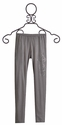 Miss Me Kids Leggings in Gray with Designer Cross