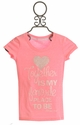 Miss Me Neon Pink Short Sleeve Shirt Together