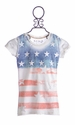 Miss Me Stars and Stripes Top