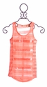 Miss Me Tween Knit Tank in Coral