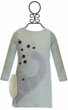 Mud Pie Elephant Dress for Girls (18Mos,2T,4T)