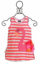 Mud Pie Flamingo Dress (Size 5T)