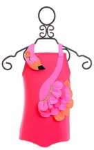 Mud Pie Flamingo Swimsuit for Girls (Size 0-6Mos)
