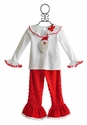 Mud Pie Holiday Top and Pant Set for Girls