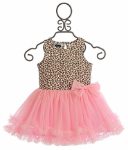 Mud Pie Leopard Dress (Size 6/9Mos)