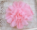 Mud Pie Light Pink Chiffon Flower Headband