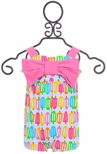 Mud Pie One-Piece Swimsuit Popsicle Print (2T & 3T)