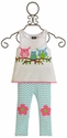 Mud Pie Owl Tunic and Leggings Set