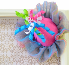 Mud Pie Party Hat Hair Clip