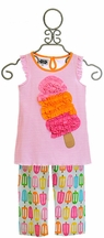 Mud Pie Popsicle Tunic with Capris (Size 5T)