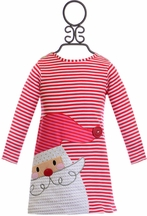 Mud Pie Santa Dress for Little Girls