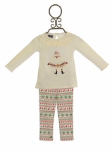 Mud Pie Santa Tunic and Legging Set INFANT