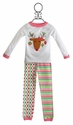 Mud Pie Toddler Pajamas in Holiday Reindeer
