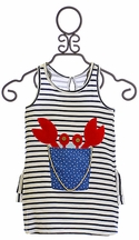 Mud Pie Toddler Stripe Sundress (2T,4T,5T)