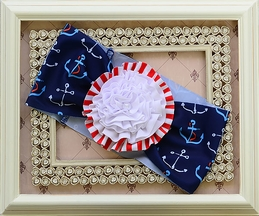 Muddy Feet Boutique Anchors Away Headband