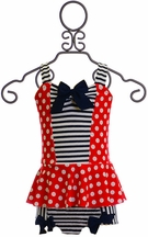 Muddy Feet Boutique Patriotic Tankini (2,4,6)
