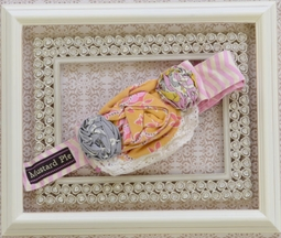 Mustard Pie Alice Wrap in Sunny Sweet Pink (Size LG 7-12)