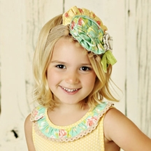 Mustard Pie Andalusia Colette Headband PREORDER