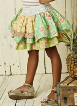 Mustard Pie Andalusia Lydia Apron Skirt PREORDER