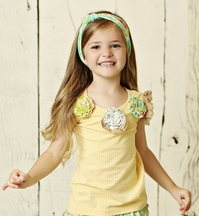 Mustard Pie Andalusia Raven Top PREORDER