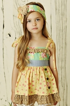 Mustard Pie Andalusia Rigby Twirl Top PREORDER
