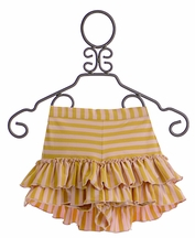 Mustard Pie Ava Shorts for Girls in Sweet Pink (12Mos & 18Mos)
