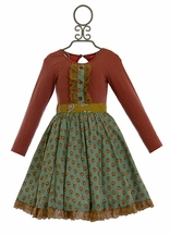 Mustard Pie Cozette Dress for Girls