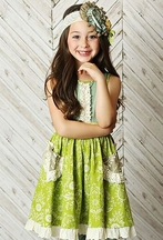 Mustard Pie Cozette Girls Dress
