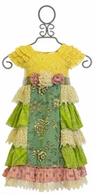 Mustard Pie Delphine Tea Party Girls Dress