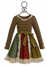 Mustard Pie Dress Scrappy Cordelia