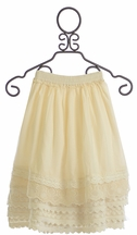 Mustard Pie Felicity Skirt Vanilla Cream for Girls