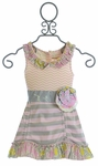 Mustard Pie Flora Tunic in Sweet Pink for Girls
