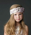Mustard Pie Girls Headband Flora