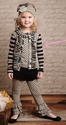 Mustard Pie Girls Stella Cardi Black Dot