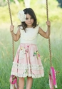 Mustard Pie Girls Twirl Dress Pink