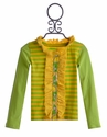 Mustard Pie Green and Yellow Stella Cardi Kids