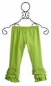 Mustard Pie Green Polka Dot Legging (12 Mos, 4 & 5)