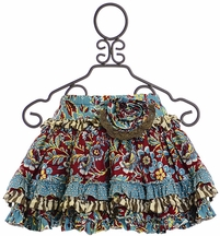Mustard Pie Harvest Splendor Skirt for Girls