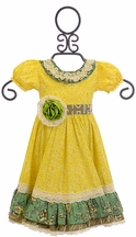 Mustard Pie Imogen Spring Dress for Girls (Size 12Mos)