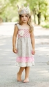 Mustard Pie Isabella Bustle Girls Dress
