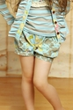 Mustard Pie Izzy Shorts in Spa Blue for Girls