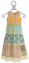 Mustard Pie Jolie Maxi Dress for Girls