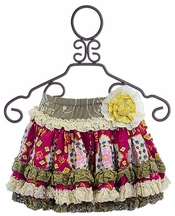 Mustard Pie Kenzington Skirt for Girls (18Mos & 4)