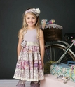 Mustard Pie Lavender McKenna Girls Dress